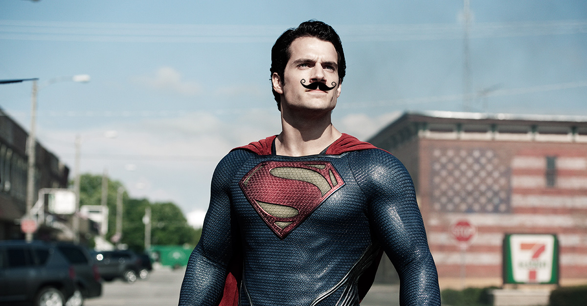 Henry Cavill's Mustache Reshoot Woes Turned Into Fan-Made Video