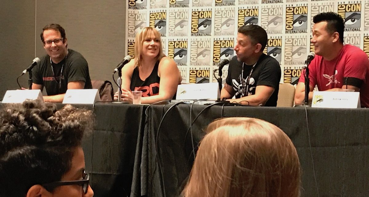SDCC 2017: 5 Takeaways from the Nerdstrong Gym Panel