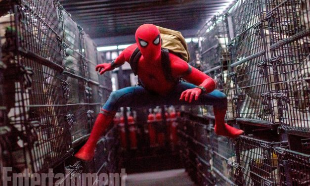 Get a Great Look at Spidey's New Suit in Spider-Man: Homecoming