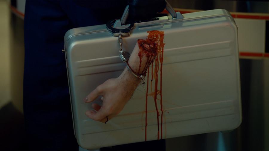 A severed hand on Wynonna Earp.