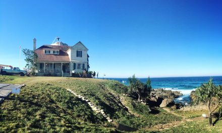 Our First Real Look at the Amnesty Bay Lighthouse Home for AQUAMAN