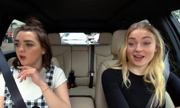 Sophie Turner and Maisie Williams Channel Ned Stark in CARPOOL KARAOKE Preview