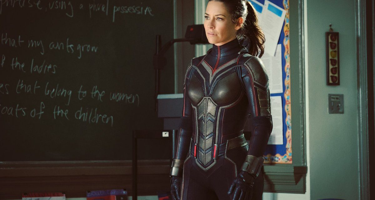 First Look at Evangeline Lilly in her Full Wasp Costume for ANT-MAN AND THE WASP