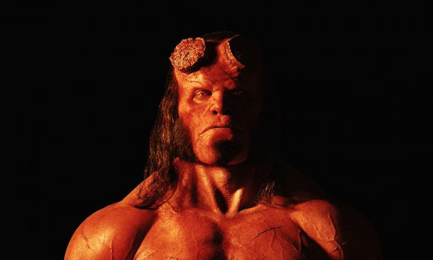 HELLBOY Reboot Has a New Demonic Poster