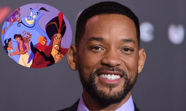 Will Smith Shares First ALADDIN Cast Photo