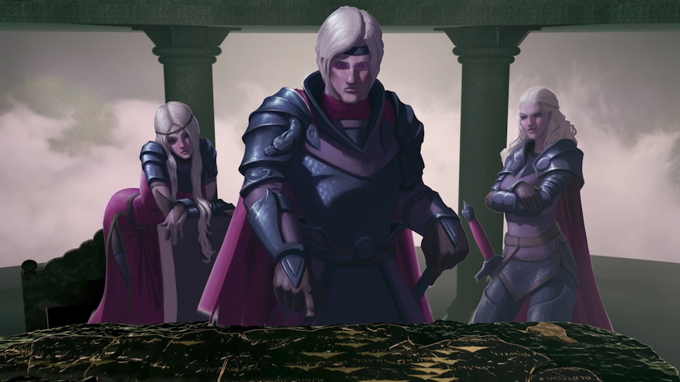 Watch Awesome Animated History of Westeros in GAME OF THRONES CONQUEST AND REBELLION