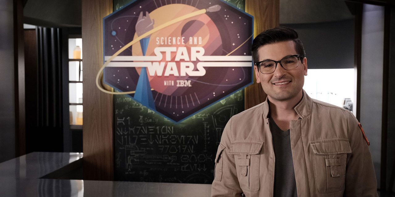 SCIENCE AND STAR WARS Show Lands on STAR WARS Youtube with a Plasma Lightsaber Build