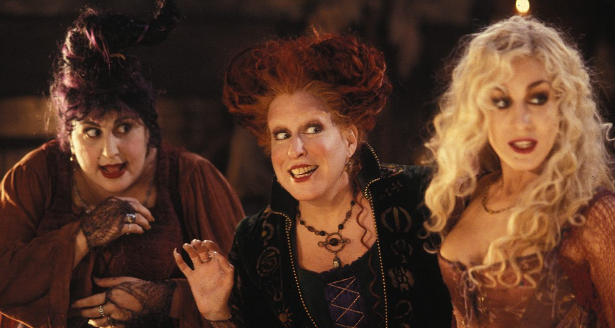 Bette Midler Shares Sneak Peek From HOCUS POCUS Reunion