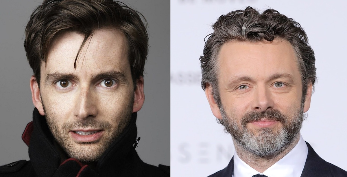 See David Tennant and Michael Sheen in First Photo From Amazon's GOOD OMENS