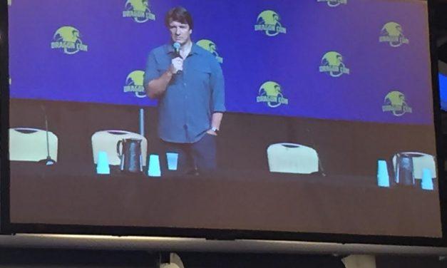 Dragon Con 2017: Nathan Fillion Starts Friday With a Bang