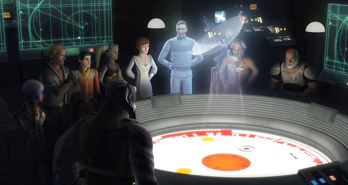 STAR WARS REBELS Recap: (S04E03-04) In the Name of the Rebellion Pt. 1 and 2