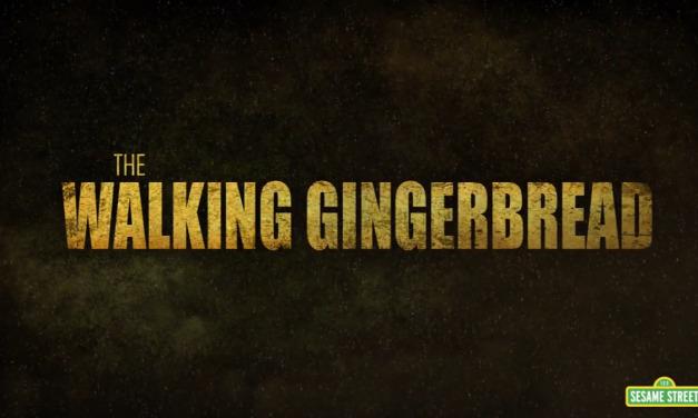 Watch the Adorable THE WALKING DEAD Parody SESAME STREET: THE WALKING GINGERBREAD