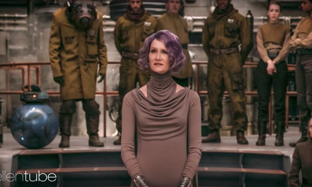 Laura Dern Talks STAR WARS: THE LAST JEDI With New Image
