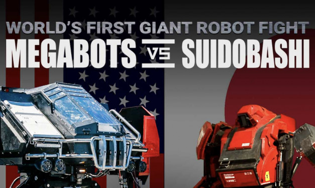 MEGABOTS: USA vs JAPAN – An Epic Manned Robot Duel Begins Tonight!