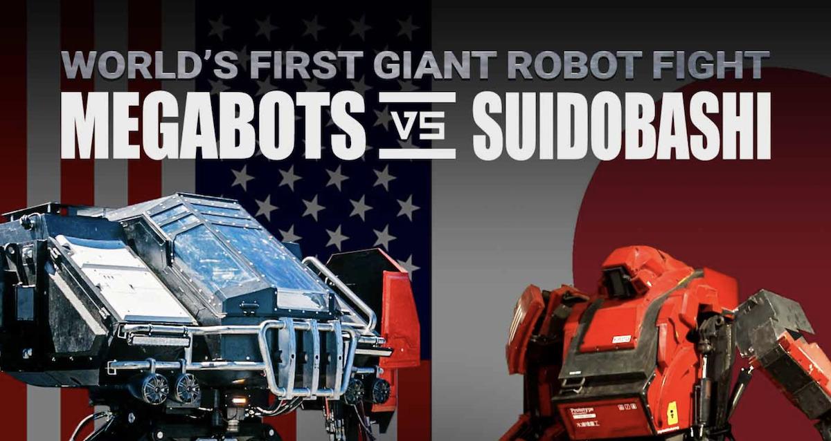 MEGABOTS: USA vs JAPAN – An Epic Manned Robot Duel Begins Tonight!