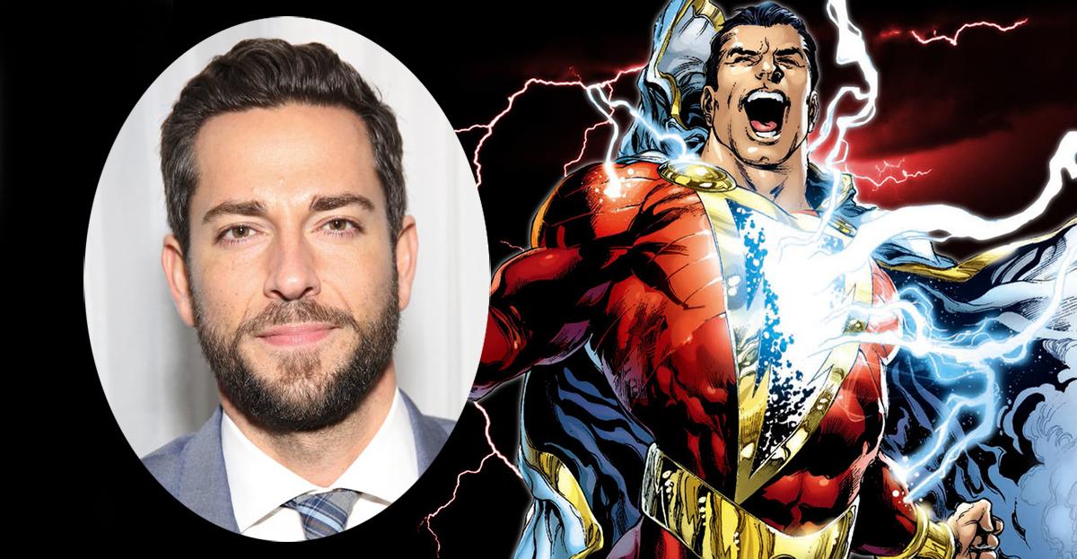 The Fantastic Zachary Levi Has Been Cast as Captain Marvel In SHAZAM!