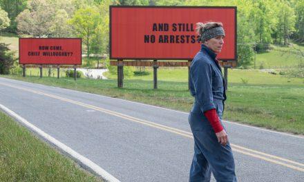 Movie Review- THREE BILLBOARDS OUTSIDE EBBING, MISSOURI