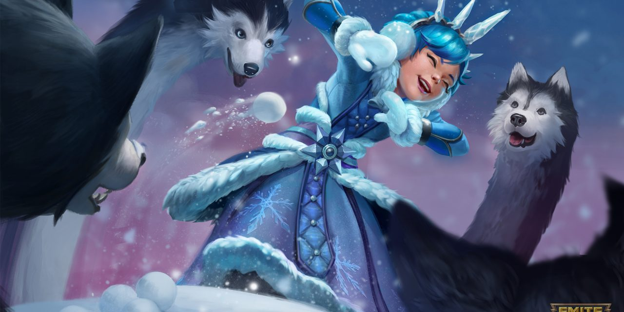 The Holidays Are Here with the SMITE Holiday Chest
