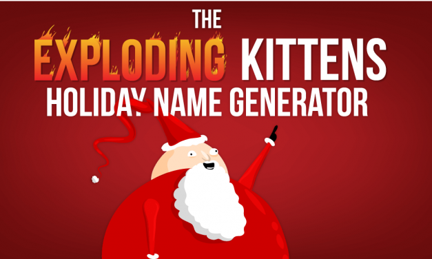 This Holiday Name Generator Is Ridiculously Fun!
