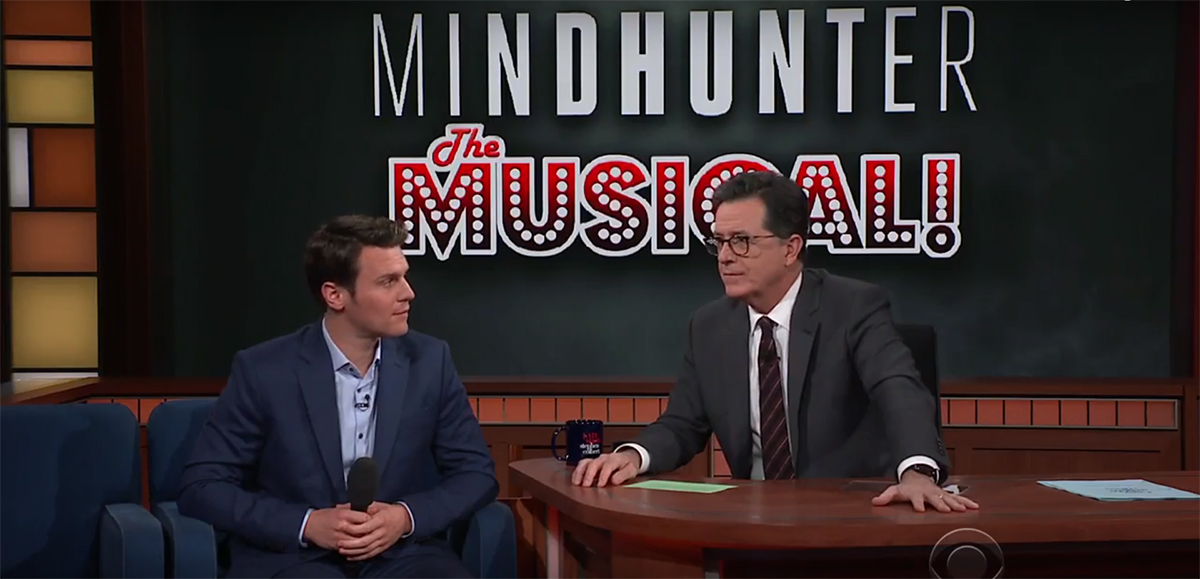 Jonathan Groff Brings MINDHUNTER The Musical to THE LATE SHOW