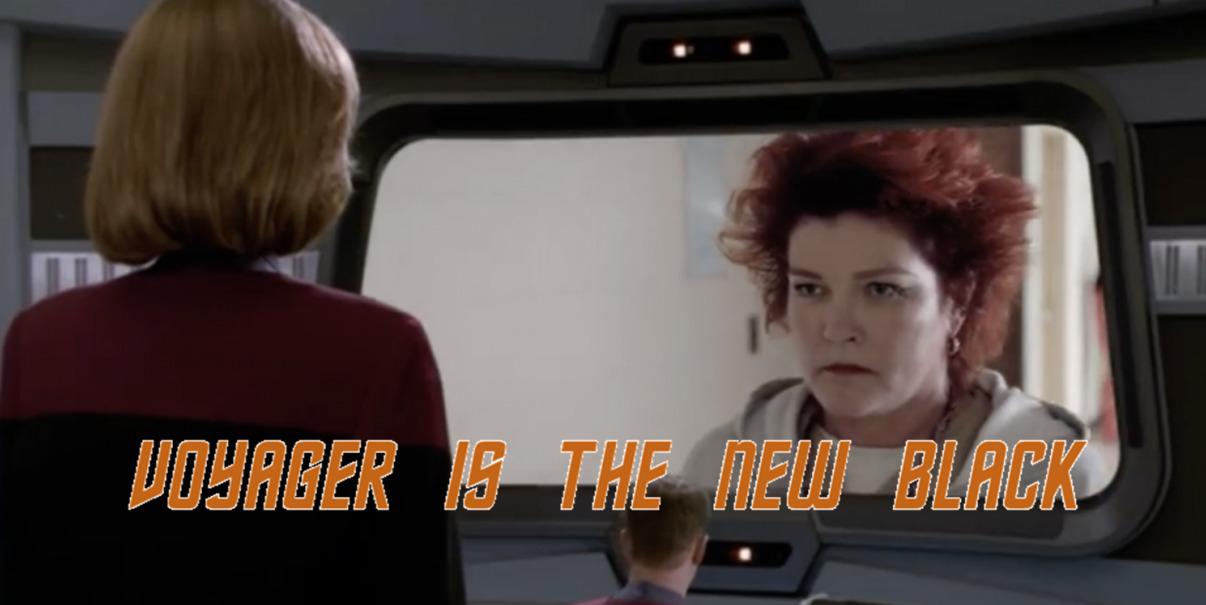 STAR TREK: VOYAGER Encounters ORANGE IS THE NEW BLACK in Funny Netflix Mashup