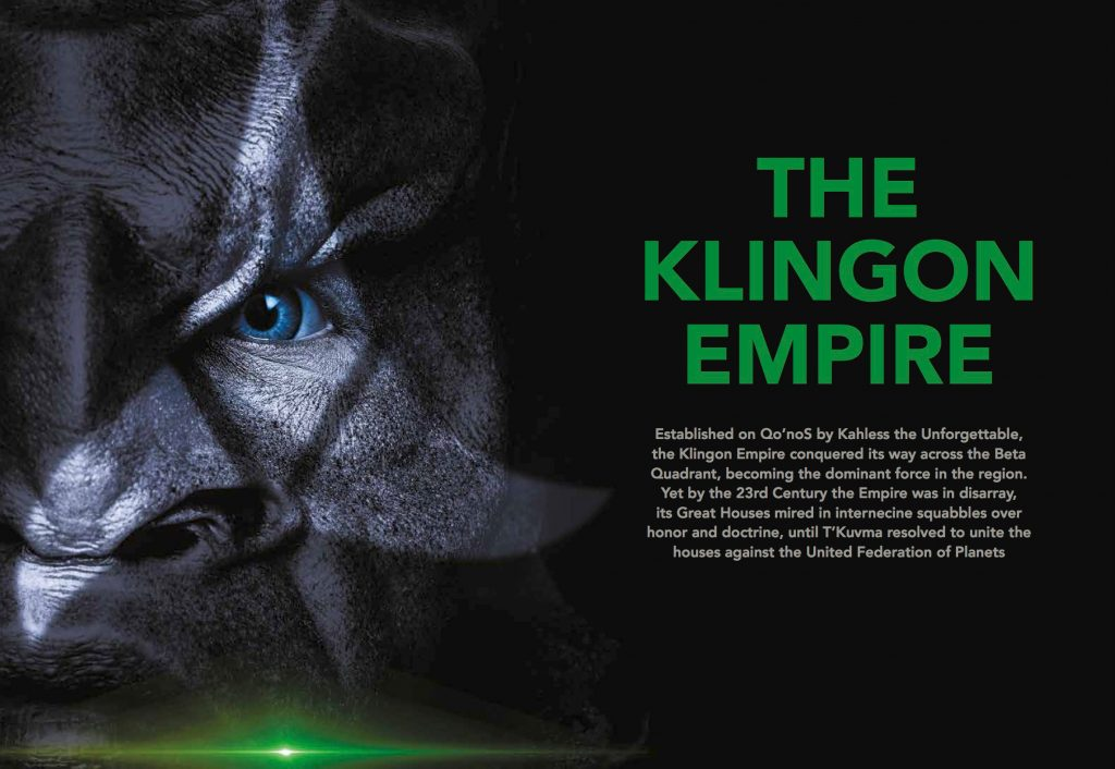 Star Trek Discovery Official Collector's Edition Guide Behind The Scenes Klingon Profile
