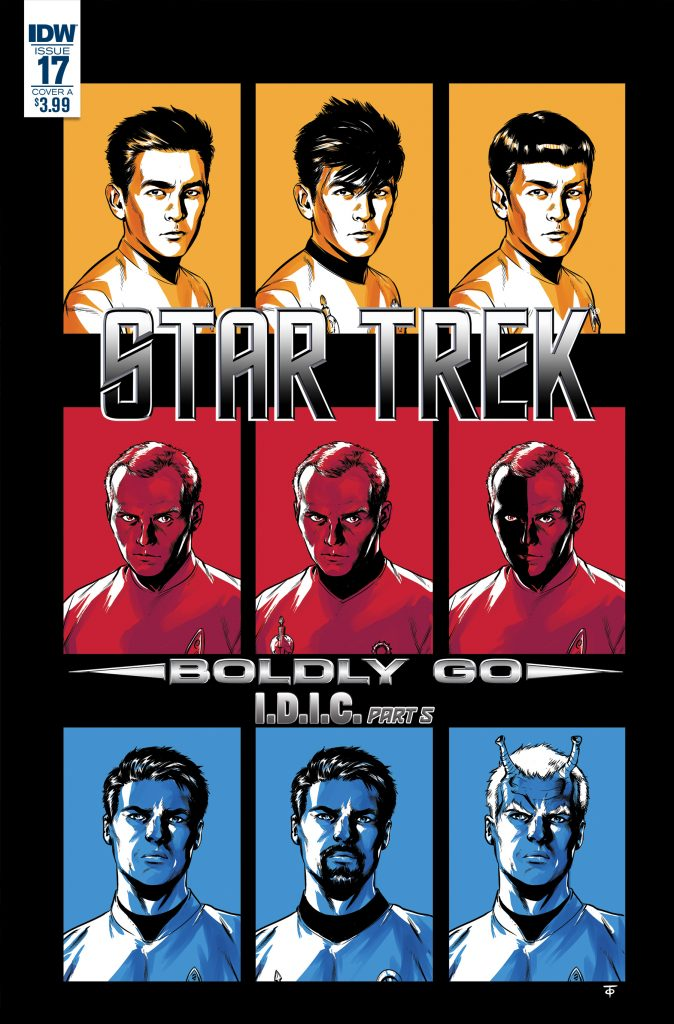 Star Trek Boldly Go Issue 17 Mike Johnson Cover A Marcus To