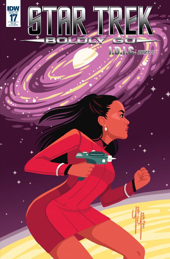 Star Trek Boldly Go Issue 17 Mike Johnson Cover C Yoshi Toshitani