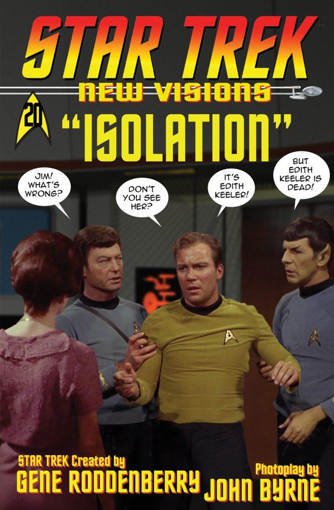 Star Trek New Visions Isolation John Byrne Cover