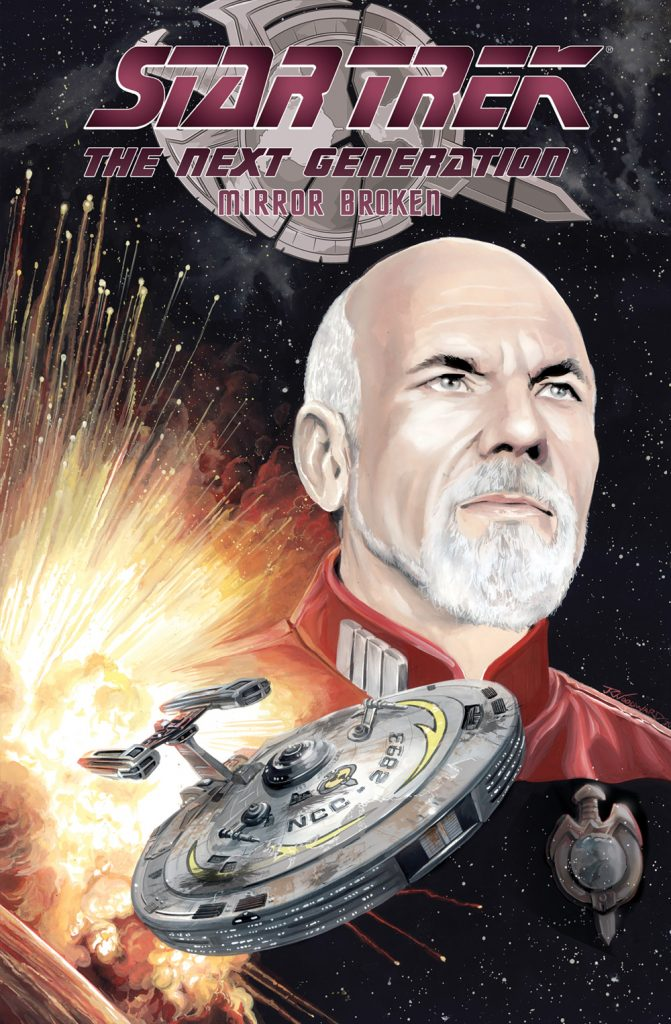 Star Trek The Next Generation Mirror Broken Scott Tipton David Tipton JK Woodard Cover