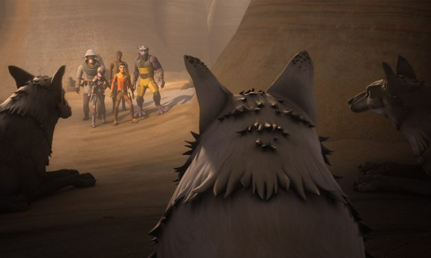 STAR WARS REBELS Recap: (S04E07) Kindred