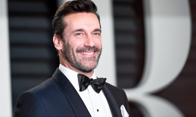 GOOD OMENS: Get a First Look at Jon Hamm as the Archangel Gabriel