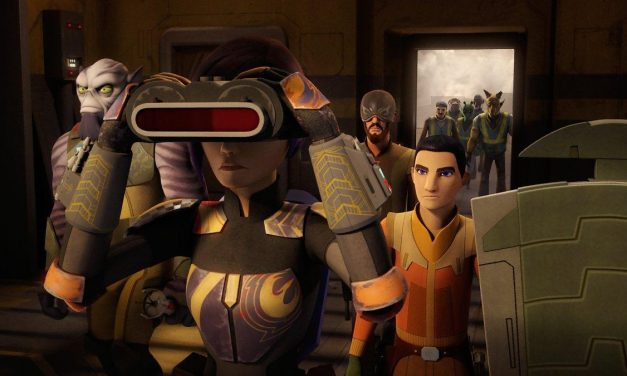 STAR WARS REBELS Recap: (S04E08) Crawler Commanders
