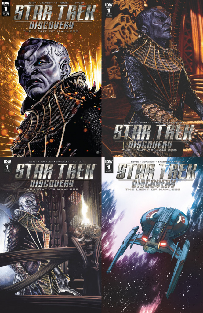 Star Trek Discovery Light Of Kahless numbr 1 covers