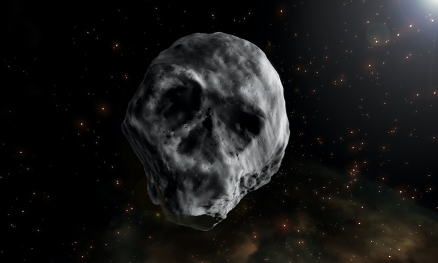Of Course There's a Skull Shaped Asteroid in Our Solar System