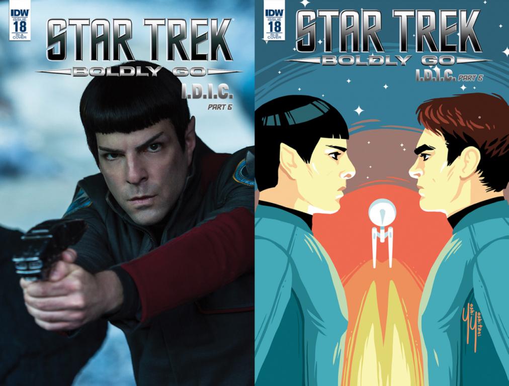 Star Trek Boldy Go #18 IDIC Part 6 IDW Mike Johnson Josh Hood Yoshi Yoshitani
