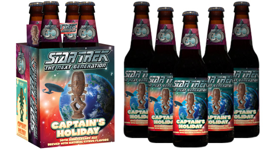 Star Trek: The Next Generation Captain's Holiday 30th Anniversary Ale