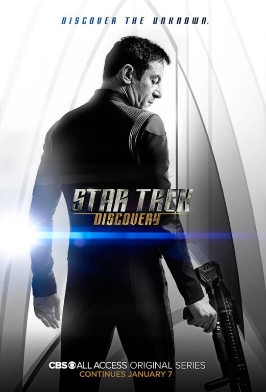 Star Trek Discovery Season 1 Chapter 2 Poster Gabriel Lorca Jason Isaacs