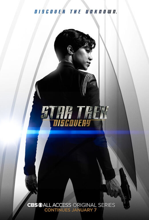 Star Trek Discovery Season 1 Chapter 2 Poster Michael Burnham Sonequa Martin-Green