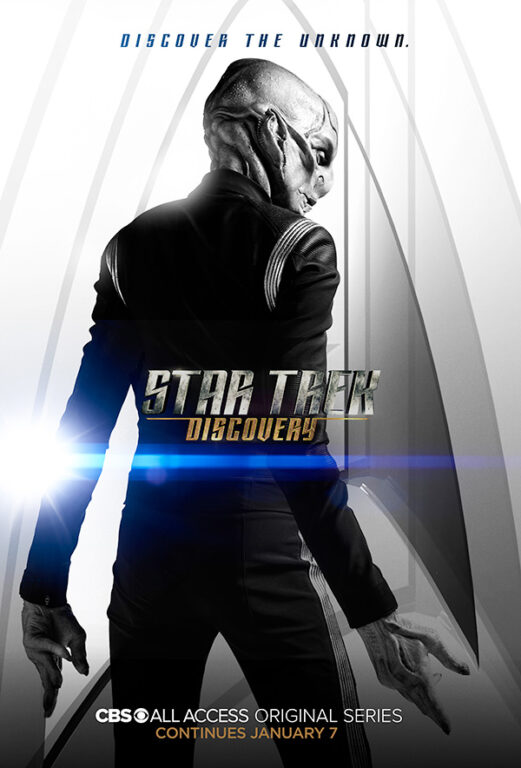 Star Trek Discovery Season 1 Chapter 2 Poster Saru Doug Jones