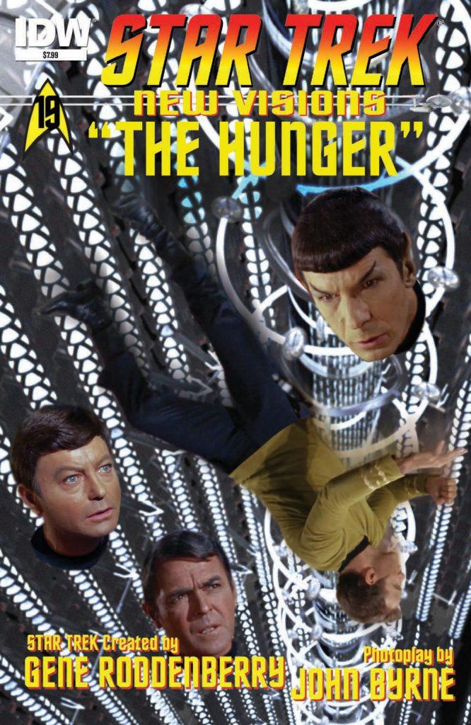 Star Trek New Visions #19 The Hunger IDW John Byrne