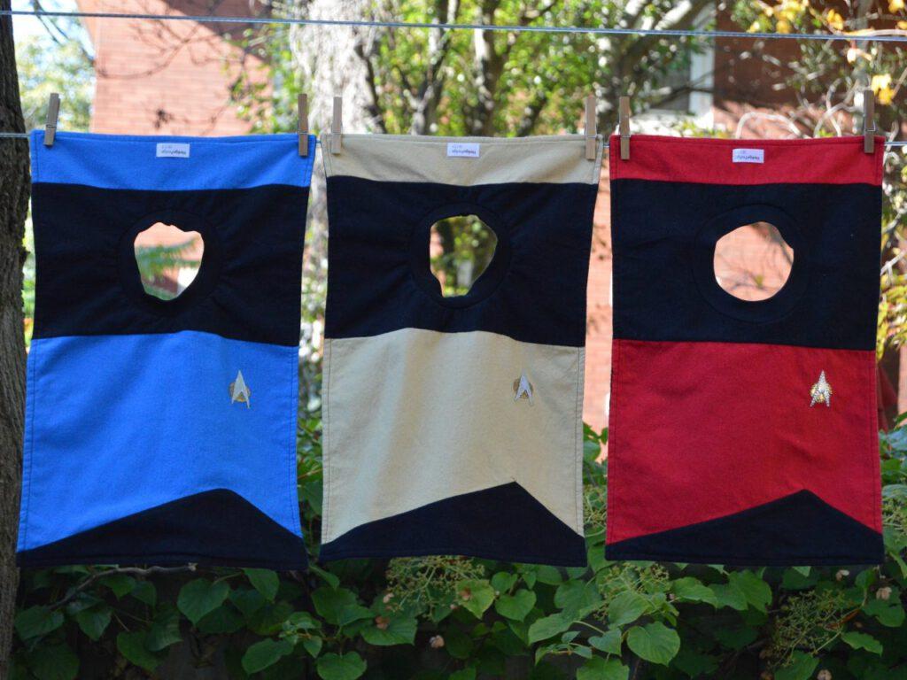 Star Trek The Next Generation Uniform Bib HedgePodge Etsy