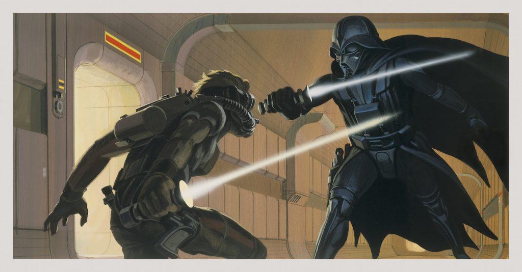 Star Wars Ralph McQuarrie Concept Art Deak Starkiller Darth Vader