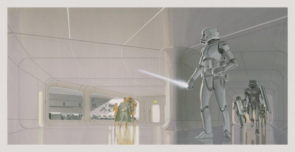 Star Wars Ralph McQuarrie Concept Art Stormtroopers