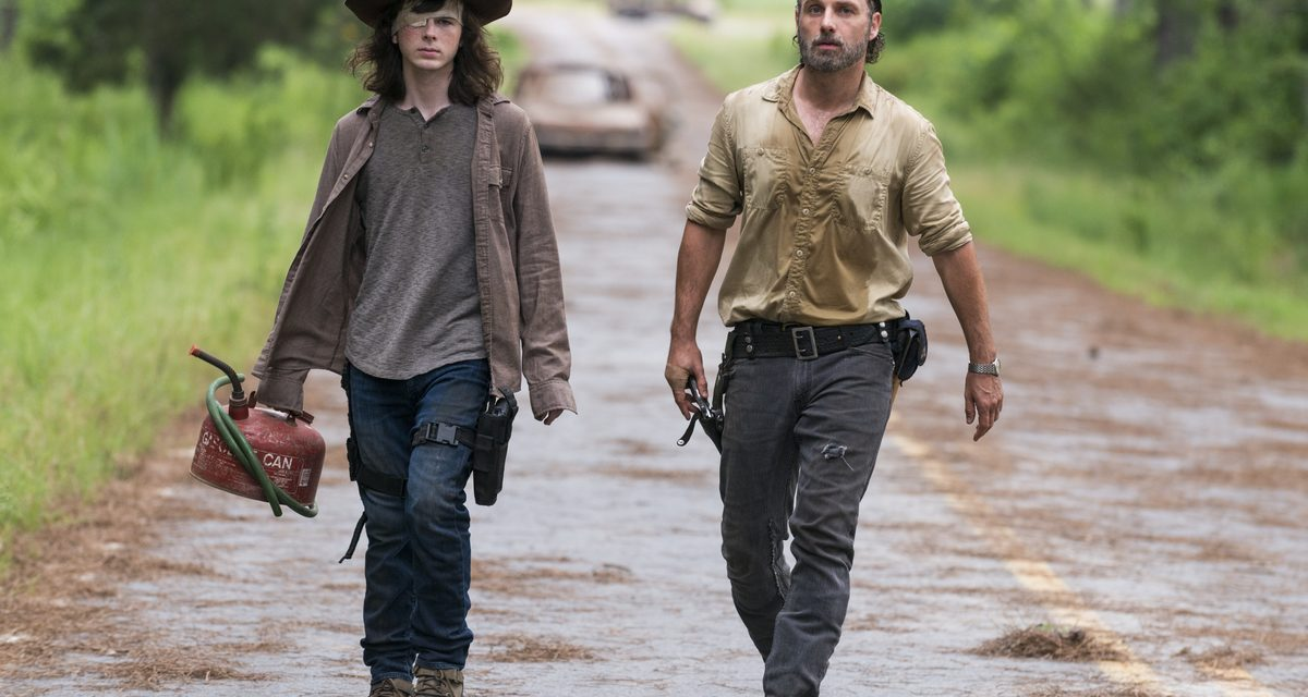 Watch THE WALKING DEAD's Andrew Lincoln's Farewell Song to Chandler Riggs