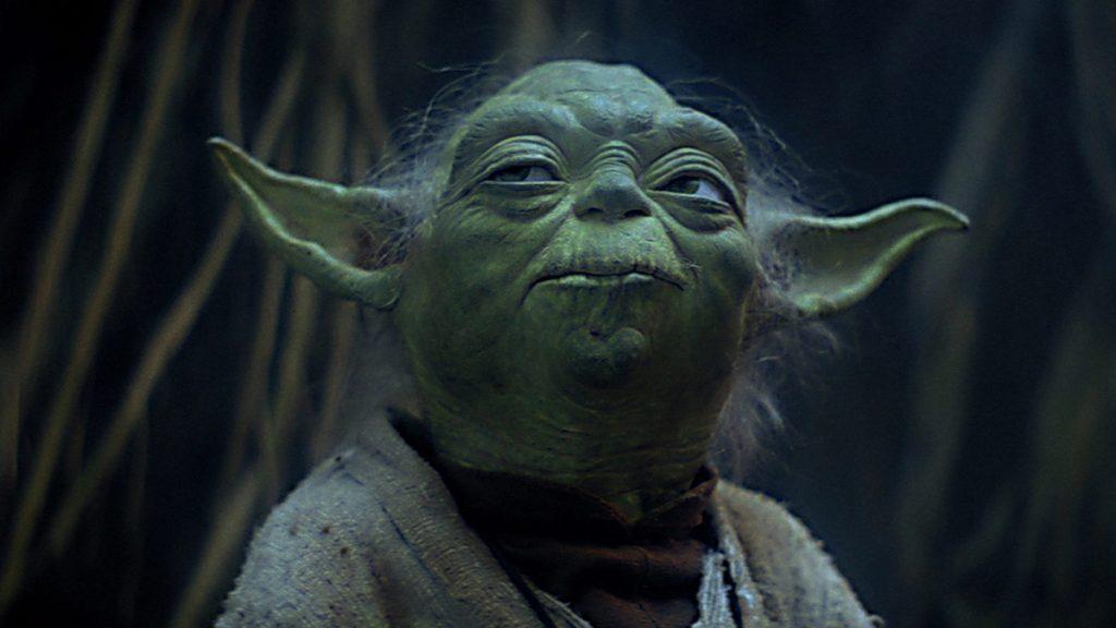 Still of Yoda