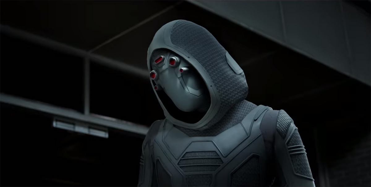 Four New Photos Highlight ANT-MAN AND THE WASP's Villain, Ghost