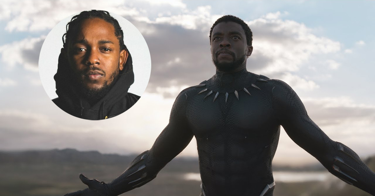 Check Out the First Song From Kendrick Lamar's BLACK PANTHER Soundtrack