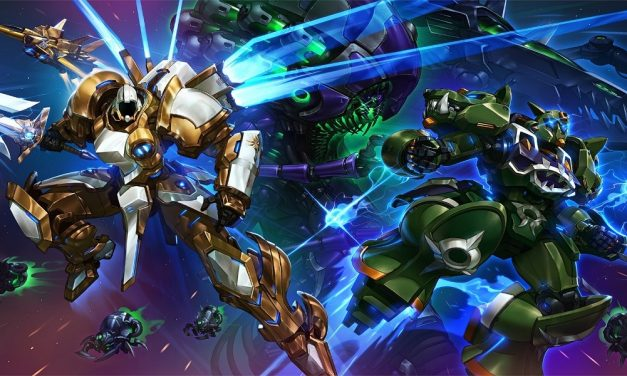 HEROES OF THE STORM Introduces New MechaStorm Skins with a Phenomenal Anime Short