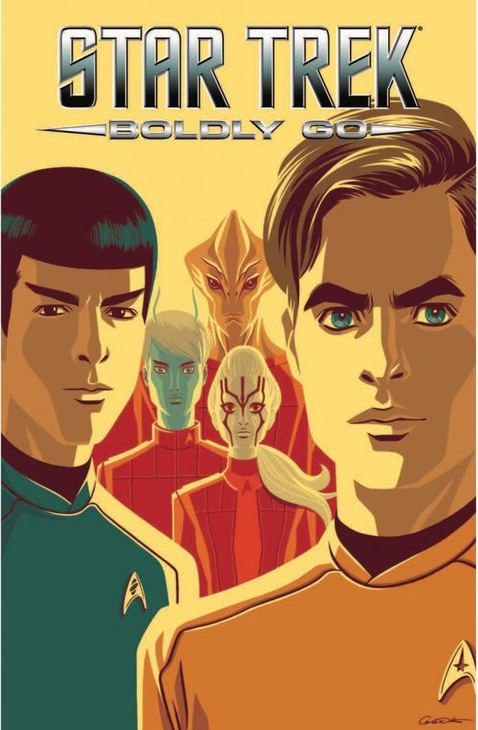 IDW Star Trek Boldly Go Vol 2 Mike Johnson Ryan Parrott Tony Shasteen Megan Levens George Caltsoudas
